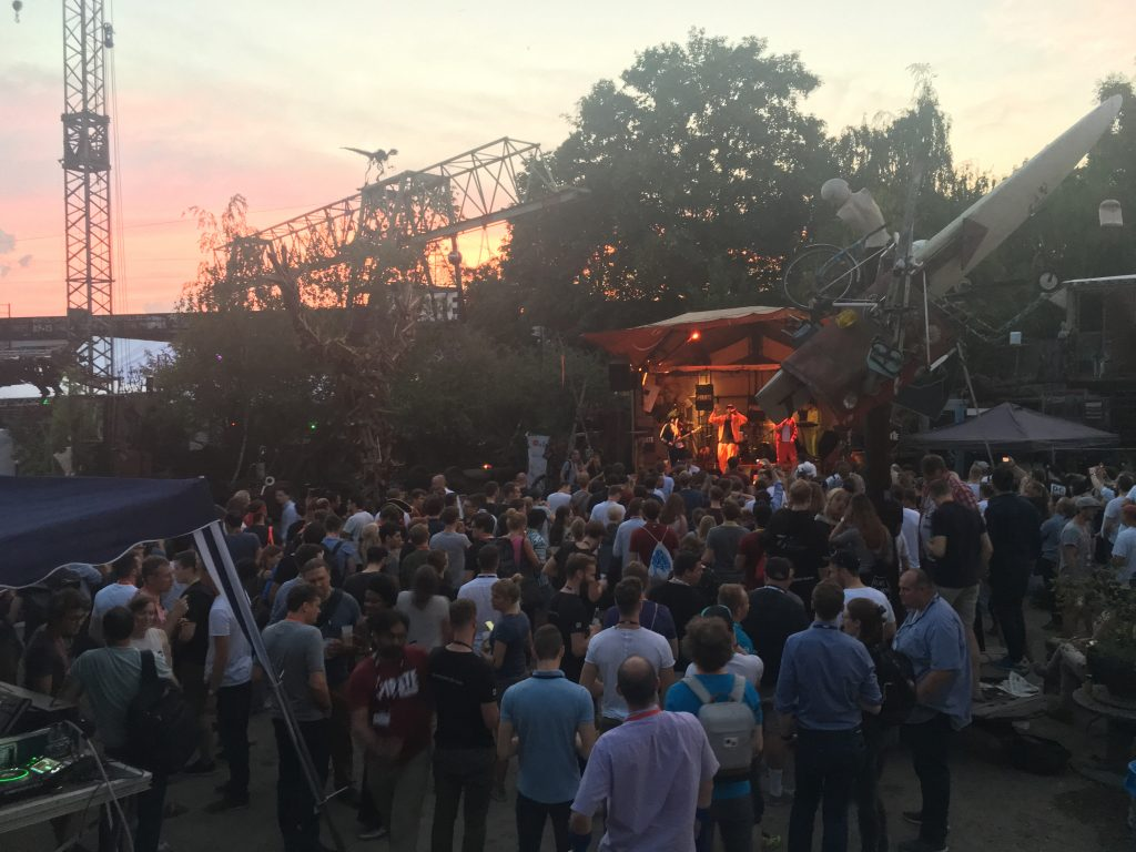 Evening event at Pirate Summit 2018