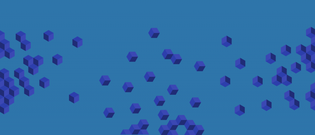abstract illustration of blockchain TechGDPR