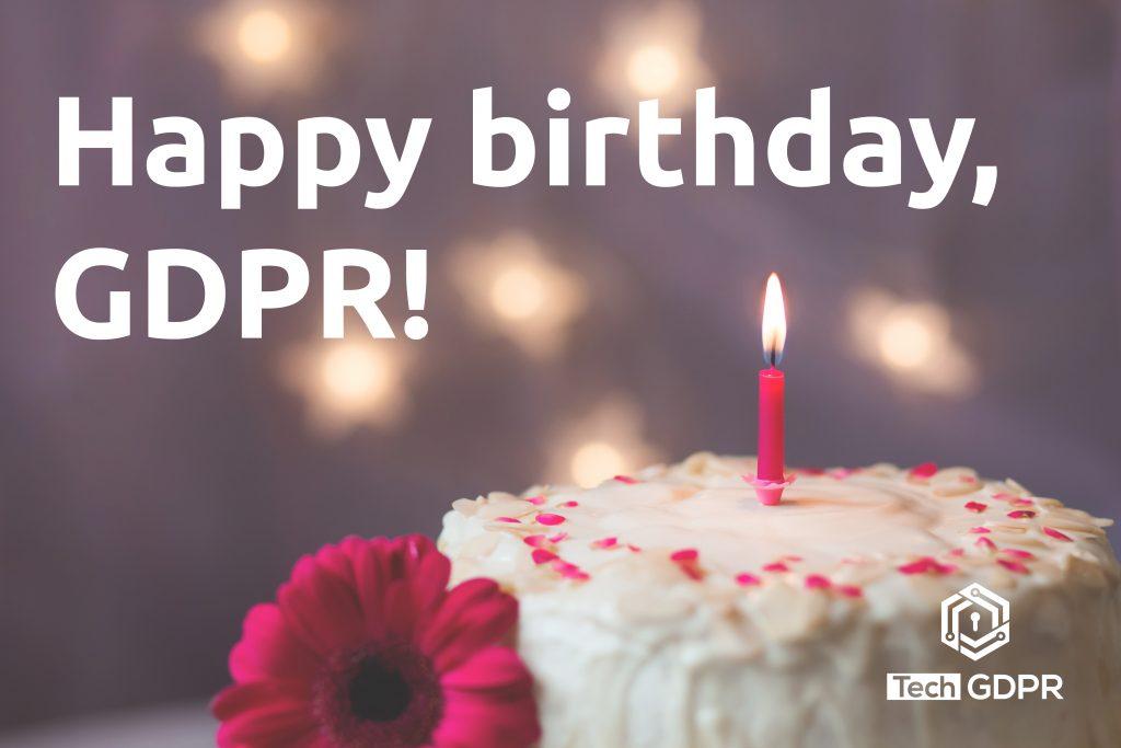 One Year GDPR