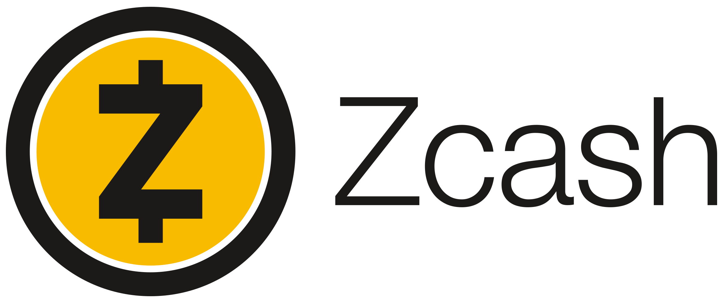 Logo of Zcash